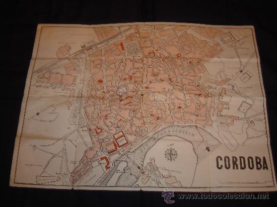 Mapa Callejero De Cordoba.Mapa Callejero De Cordoba Capital Anos 70 Comprar Mapas Contemporaneos En Todocoleccion 29377661