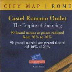 Mapas contemporáneos: PLANO TURÍSTICO - ROMA. Lote 29920589