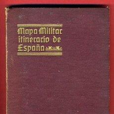 Mapas contemporáneos: MAPA MILITAR ITINERARIO DE ESPAÑA , 1919 , HOJA 34 , DESPLEGABLE, EN TELA, , ORIGINAL. Lote 30129620