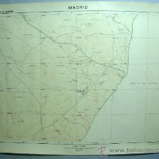 Mapas contemporáneos: MAPA MEDIODÍA VILLA VALLECAS RIVAS VACIAMADRID TÉRMINO MUNICIPAL AYUNTAMIENTO MADRID 1970 Nº 74. Lote 210265250