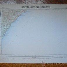 Mapas contemporáneos: 1949 MAPA DE HOSPITALET DEL INFANTE 1:50000 EN VARIAS TINTAS 2ª ED. INSTITUTO GEOGRÁFICO Y CATASTRAL. Lote 30686117