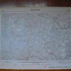 Mapas contemporáneos: 1952 MAPA DE GUISONA E 1:50000 EN VARIAS TINTAS 2ª EDICION INSTITUTO GEOGRÁFICO Y CATASTRAL. Lote 30686145