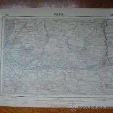 Mapas contemporáneos: 1952 MAPA DE JACA 1:50000 EN VARIAS TINTAS 2ª EDICION INSTITUTO GEOGRÁFICO Y CATASTRAL. Lote 30686200