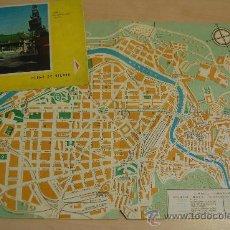 Mapas contemporáneos: PLANO DE BILBAO. 1962. PLEGADO EN CUATRO. Lote 30921591