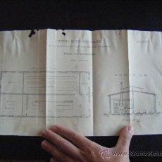 Mappe contemporanee: PLANO SISTEMA DE ESTACIONES BLOCK DE SOCIEDAD DE ELECTRICIDAD DE CHAMBERÍ.. Lote 197944083