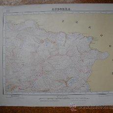 Mapas contemporáneos: 1931 MAPA DE ANDORRA E 1:50000 EN VARIAS TINTAS 1ª EDICION INSTITUTO GEOGRAFICO. Lote 31170309
