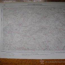 Mapas contemporáneos: 1952 MAPA DE CORNUDELLA 1:50000 EN VARIAS TINTAS 2ª EDICION INSTITUTO GEOGRÁFICO Y CATASTRAL. Lote 31170339