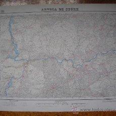 Mapas contemporáneos: 1950 MAPA DE ARTESA DE SEGRE 1:50000 EN VARIAS TINTAS 3ª EDICION INSTITUTO GEOGRÁFICO Y CATASTRAL. Lote 31170510