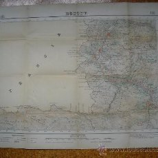 Mapas contemporáneos: 1950 MAPA DE BOSOST 1:50000 EN VARIAS TINTAS 2ª EDICION INSTITUTO GEOGRÁFICO Y CATASTRAL. Lote 31170568