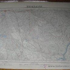 Mapas contemporáneos: 1952 MAPA DE BUJARALOZ E 1:50000 EN VARIAS TINTAS 2ª EDICION INSTITUTO GEOGRAFICO. Lote 31178498