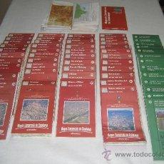 Mapas contemporáneos: LOT DE 57 MAPES DE CATALUNYA, INSTITUT CARTOGRÀFIC DE CATALUNYA,1996-1999, 1:50000, 280000, 300000.. Lote 31199816