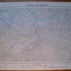 Mapas contemporáneos: 1952 SEGUNDA EDICION DEL MAPA DE MORA DE EBRO E 1 :50000. Lote 31931155
