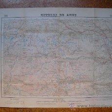 Mapas contemporáneos: MAPA DE ESTERRI DE ANEU TERCERA EDICION 1:50000 INSTITUTO GEOGRÁFICO . Lote 31942793