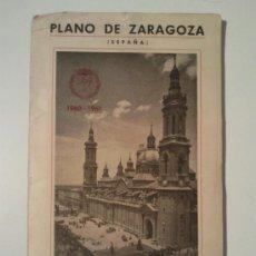 Mapas contemporáneos: ANTIGUO PLANO ZARAGOZA. Lote 32110028