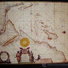 Mapas contemporáneos: 1675-MAPA DE INDIA.JOHN SELLER.REPRODUCCIÓN. Lote 32657115