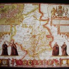 Mapas contemporáneos: 1611-MAPA DE CAMBRIDGE.INGLATERRA.KOHN SPEED.REPRODUCCIÓN. Lote 32657784