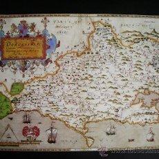 Mapas contemporáneos: 1575-MAPA DEL CONDADO DE DORSET.INGLATERRA.CHISTOPHER SAXTON .REPRODUCCIÓN. Lote 32657903