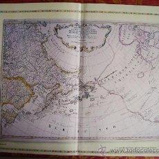 Mapas contemporáneos: 1773-74-MAPAS DE AMÉRICA DEL NORTE Y DEL ITSMO DE TEHUANTEPEC. GRANDE.RÉPLICA MODERNA. Lote 32668235