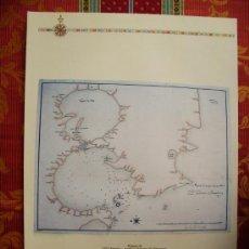 Mapas contemporâneos: 1767-MAPAS DE MANILA Y PERÚ.ARCHIVO SIMANCAS Y FRAY JOSEPH AMICH. GRANDE.RÉPLICA MODERNA. Lote 32675838