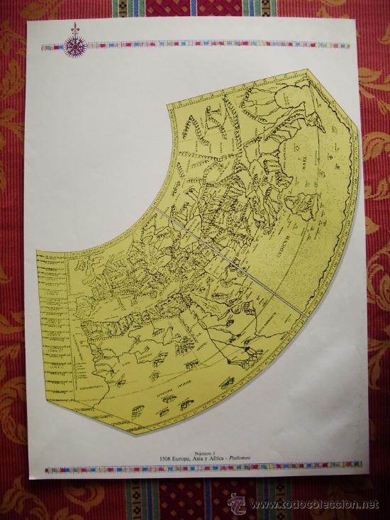1568mapa de europa asia y fricaptolomeo gr  Comprar Mapas