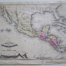 Mapas contemporáneos: MEXICO Y CENTRO AMERICA 1856 MCNALLYS IMPROVED SYSTEM OF GEOGRAPHY . Lote 32864277