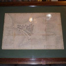 Mapas contemporáneos: PLANO DE CADIZ - 1609, COPIADO DEL QUE EXISTE EN EL ARCHIVO DE SIMANCAS (S.XIX). Lote 33227617