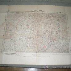 Mapas contemporáneos: ANTIGUO MAPA DE . CALATAYUD Y SU COMARCA . AÑO 1924. Lote 33246781