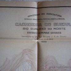 Mapas contemporáneos: COLECCION DE 27 MAPAS DEL SERVIÇO GEOLOGICO E MINERALOGICO DO BRASIL. 1928.. Lote 33683515