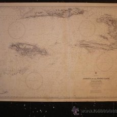 Mapas contemporáneos: ADMIRALTY. JAMAICA AND THE PEDRO BANK WITH PARTS OF CUBA AND HAÏTI. NAUTICAL CHART. 1960. Lote 8304897