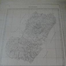 Mapas contemporáneos: ISLA DE BIOCO GUINEA ECUATORIAL. Lote 36737439