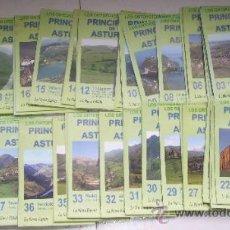 Mapas contemporáneos: LOTE CON 30 ORTOFOTOMAPAS DEL PRINCIPADO DE ASTURIAS DE LA NUEVA ESPAÑA EN OVIEDO 2009. Lote 57034121
