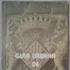 Mapas contemporáneos: GUIA URBANA DE VIC (BARCELONA) 1979 CON PLANO DESPLEGABLE. PUBLICIDAD. Lote 34419029