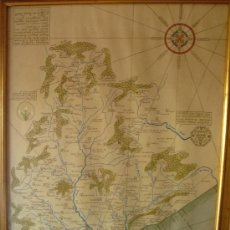 Mapas contemporáneos: LITOGRAFIA ILUMINADA A MANO. 1º EDICION- 1975. BARCHINONA IN SAECULO XIV . NOVELL BOFARULL BARCELONA. Lote 34615530
