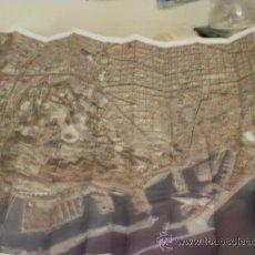 Mapas contemporáneos: MAPA AEREO FOTOGRAFICO DE BARCELONA -REF-M4E2. Lote 34694315