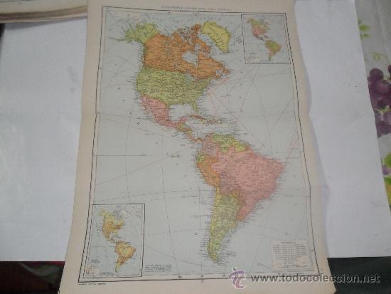 Worksheet. continente americano politico escala plano map  Comprar Mapas