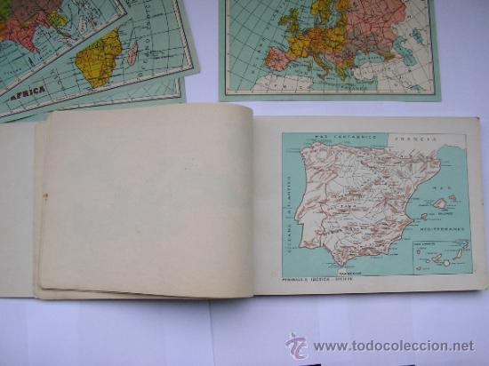 ATLAS UNIVERSAL DE LOS AÑOS 50,CONTIENE 78 MAPAS INDIVIDUALES, DE J.VÁZQUEZ-DIBUJO JUAN D.HOYOS. (Coleccionismo - Mapas - Mapas actuales (desde siglo XIX))