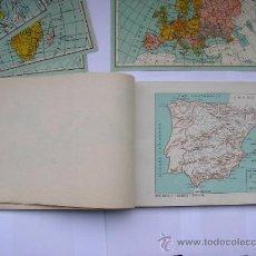 Mapas contemporáneos: ATLAS UNIVERSAL DE LOS AÑOS 50,CONTIENE 78 MAPAS INDIVIDUALES, DE J.VÁZQUEZ-DIBUJO JUAN D.HOYOS.. Lote 34975090