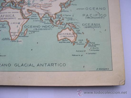 Mapas contemporáneos: ATLAS UNIVERSAL DE LOS AÑOS 50,CONTIENE 78 MAPAS INDIVIDUALES, DE J.VÁZQUEZ-DIBUJO JUAN D.HOYOS. - Foto 13 - 34975090