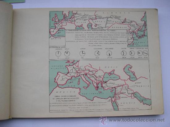 Mapas contemporáneos: ATLAS UNIVERSAL DE LOS AÑOS 50,CONTIENE 78 MAPAS INDIVIDUALES, DE J.VÁZQUEZ-DIBUJO JUAN D.HOYOS. - Foto 22 - 34975090