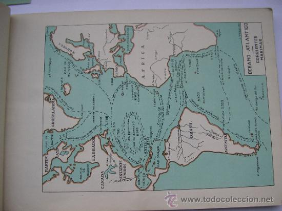Mapas contemporáneos: ATLAS UNIVERSAL DE LOS AÑOS 50,CONTIENE 78 MAPAS INDIVIDUALES, DE J.VÁZQUEZ-DIBUJO JUAN D.HOYOS. - Foto 23 - 34975090
