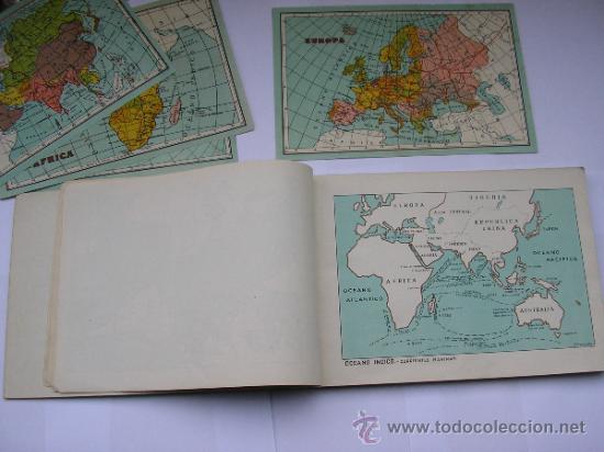 Mapas contemporáneos: ATLAS UNIVERSAL DE LOS AÑOS 50,CONTIENE 78 MAPAS INDIVIDUALES, DE J.VÁZQUEZ-DIBUJO JUAN D.HOYOS. - Foto 24 - 34975090