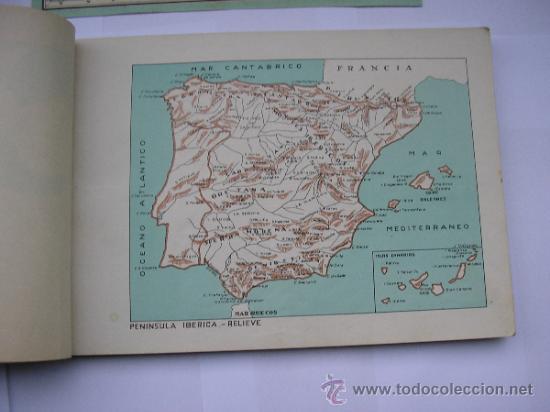 Mapas contemporáneos: ATLAS UNIVERSAL DE LOS AÑOS 50,CONTIENE 78 MAPAS INDIVIDUALES, DE J.VÁZQUEZ-DIBUJO JUAN D.HOYOS. - Foto 15 - 34975090