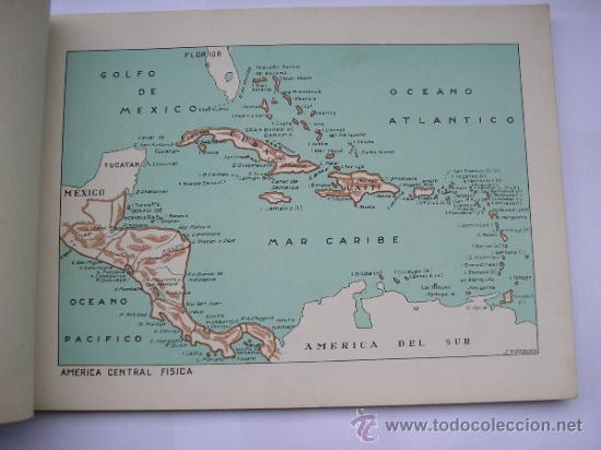 Mapas contemporáneos: ATLAS UNIVERSAL DE LOS AÑOS 50,CONTIENE 78 MAPAS INDIVIDUALES, DE J.VÁZQUEZ-DIBUJO JUAN D.HOYOS. - Foto 17 - 34975090