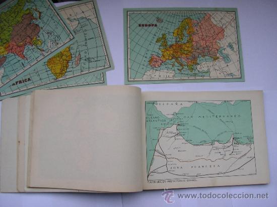 Mapas contemporáneos: ATLAS UNIVERSAL DE LOS AÑOS 50,CONTIENE 78 MAPAS INDIVIDUALES, DE J.VÁZQUEZ-DIBUJO JUAN D.HOYOS. - Foto 21 - 34975090