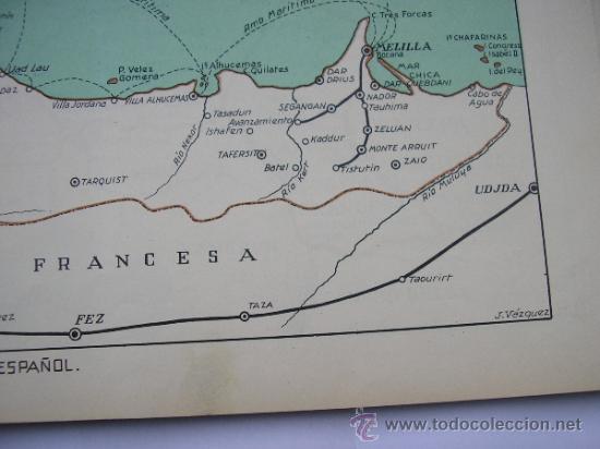 Mapas contemporáneos: ATLAS UNIVERSAL DE LOS AÑOS 50,CONTIENE 78 MAPAS INDIVIDUALES, DE J.VÁZQUEZ-DIBUJO JUAN D.HOYOS. - Foto 16 - 34975090