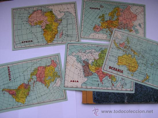 Mapas contemporáneos: ATLAS UNIVERSAL DE LOS AÑOS 50,CONTIENE 78 MAPAS INDIVIDUALES, DE J.VÁZQUEZ-DIBUJO JUAN D.HOYOS. - Foto 5 - 34975090