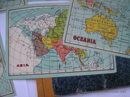 Mapas contemporáneos: ATLAS UNIVERSAL DE LOS AÑOS 50,CONTIENE 78 MAPAS INDIVIDUALES, DE J.VÁZQUEZ-DIBUJO JUAN D.HOYOS. - Foto 4 - 34975090