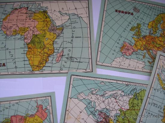 Mapas contemporáneos: ATLAS UNIVERSAL DE LOS AÑOS 50,CONTIENE 78 MAPAS INDIVIDUALES, DE J.VÁZQUEZ-DIBUJO JUAN D.HOYOS. - Foto 3 - 34975090