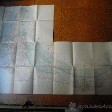 Mapas contemporáneos: GUERRA DE MARRUECOS CA. 1915 CROQUIS 1:50000 ZONA MELILLA DEL KERT AL MULUYA 150X100 CMS EN COLOR. Lote 35187569