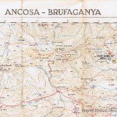 Mapas contemporáneos: ATLAS MONTAÑERO - Nº 25 - CORDILLERAS COSTERAS CATALANAS - 1968 - 1ª EDICIÓN - MIDE 98 X 73'5 CMS . Lote 35546205